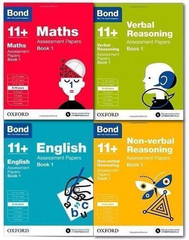 Bond 11+ English Maths Assessment Papers, Ages 9-10 Years - Children Store Co.