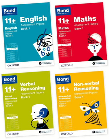 Bond 11+ English Maths Assessment Papers, Ages 10-11 Years - Children Store Co.