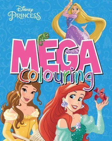 Disney Princess Mega Coloring by Parragon Ages 2+ - Children Store Co.
