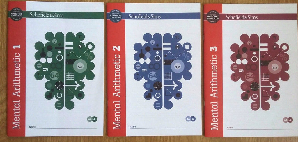 Mental Arithmetic 1,2 &3 by Schofield & Sims (Pack of 3) - Children Store Co.