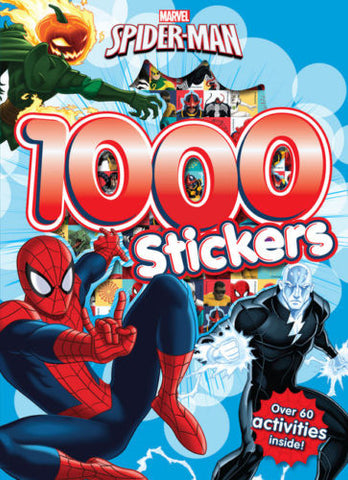 MARVEL SPIDER-MAN 1000 STICKERS - Children Store Co.