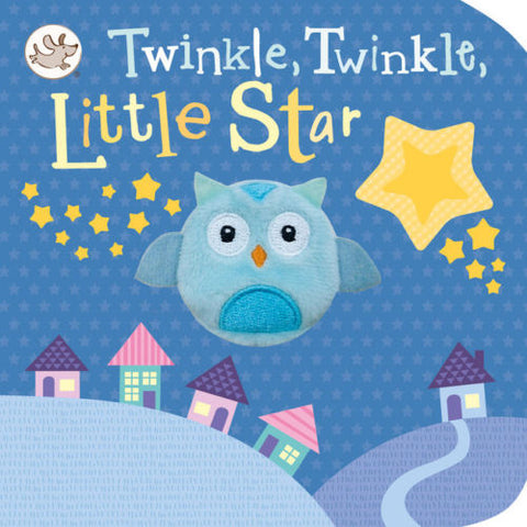 Twinkle Twinkle little star Finger puppet Board book by Little Learners (NEW)!! - Children Store Co.