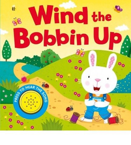 Baby/Kids Sound book Wind the Bobbin Up hardback NEW!!!
