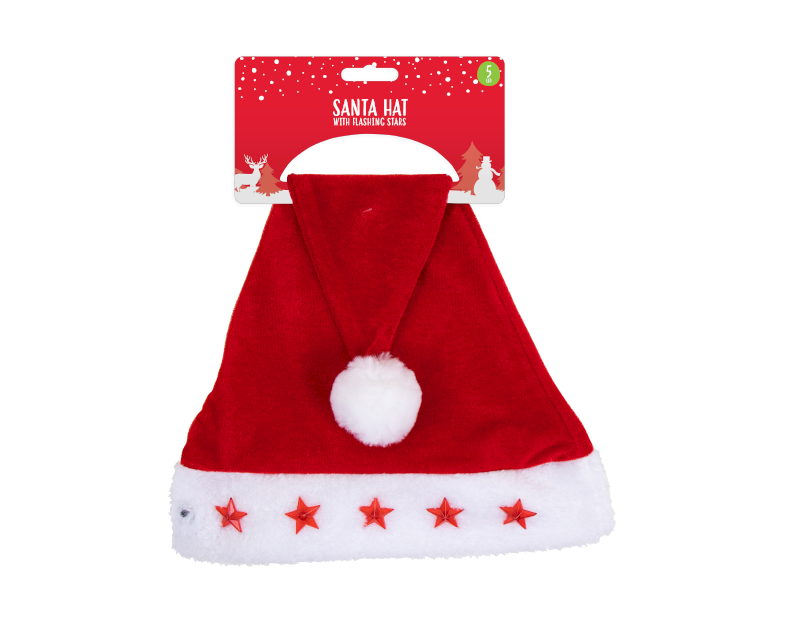 Christmas Flashing Santa Hat - Children Store Co.