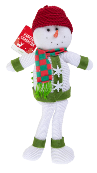 Hanging Snowman Christmas Character Decoration - Children Store Co.
