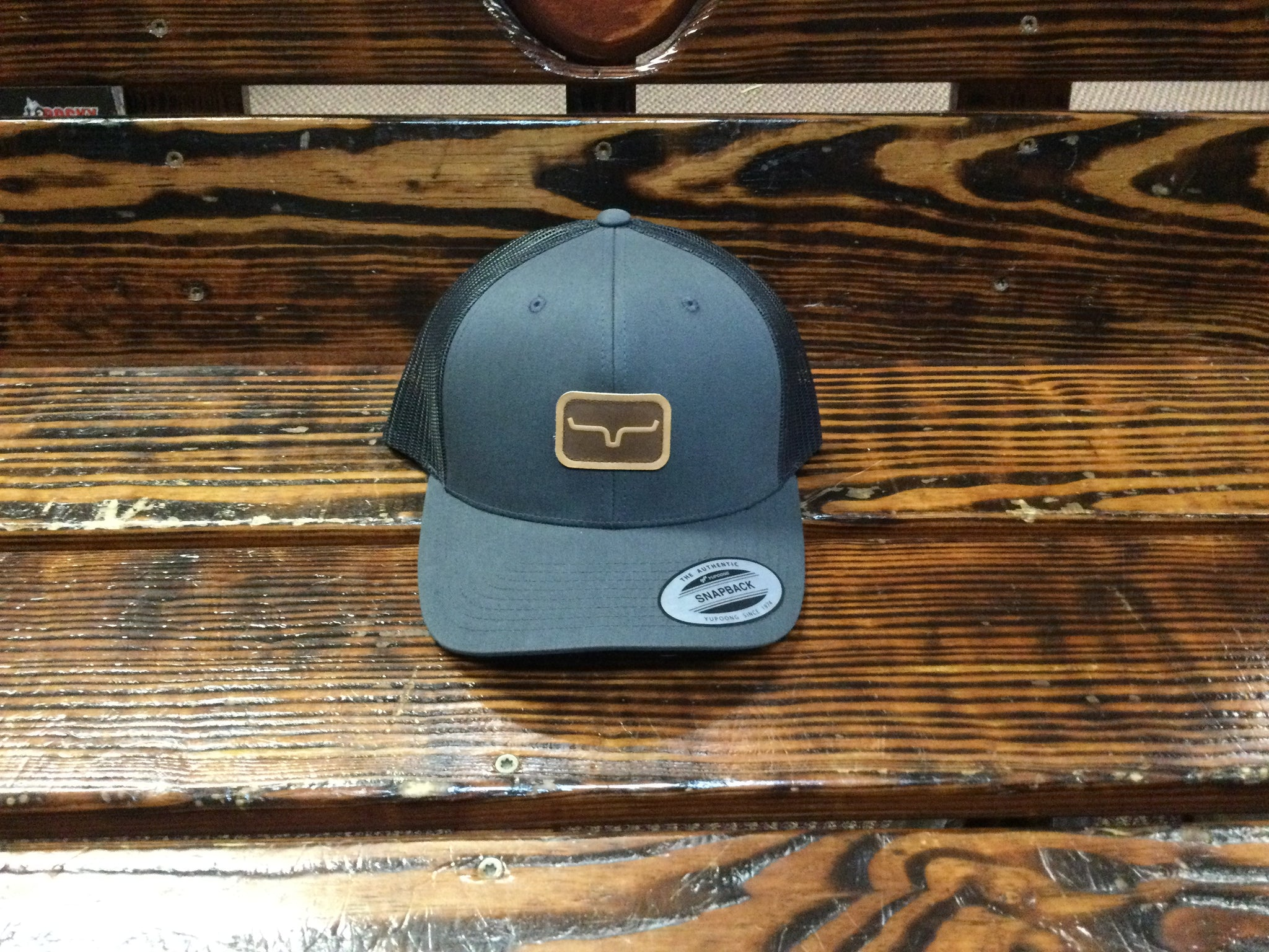 Kimes Ranch Hat Snap Shot Trucker Charcoal
