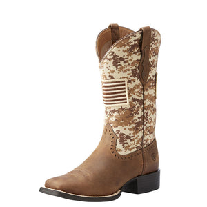 Ariat Women's Round Up Patriot Western Boot