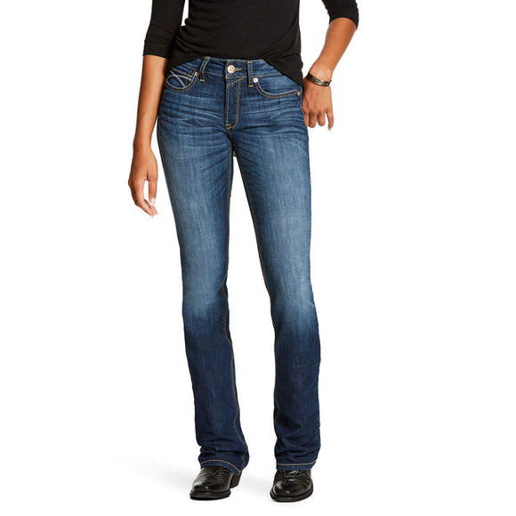 R.E.A.L. Perfect Rise Stretch Rosa Boot Cut Jean