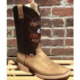 "RockinLeather Men's  ""Right To Bear Arms"" Western Boot"