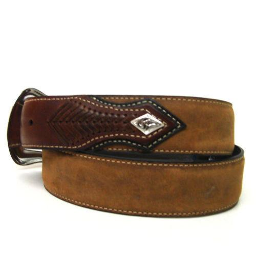 Nocona Top Hand Diamond Brown Belt N2475444