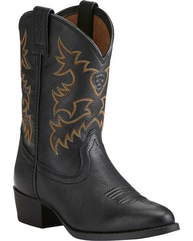 Ariat Boys' Heritage Western Cowboy Boots - Round Toe
