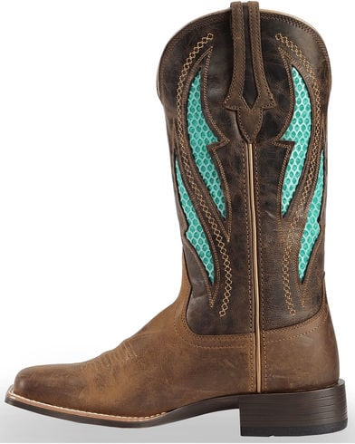 8f40c6d0aec Ariat Women's VentTEK Ultra Quickdraw Cowgirl Boots Square Toe 10023146