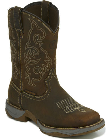 Tony Lama Men's Brown Junction Waterproof Boots - Square Toe