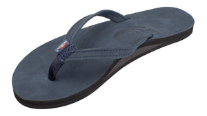 RAINBOW LADIES Single Layer Premier Leather with Arch Support and a Narrow Strap
