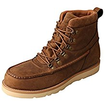 Twisted X Men'S Distressed Saddle Waterproof Safety Toe Casual Shoe