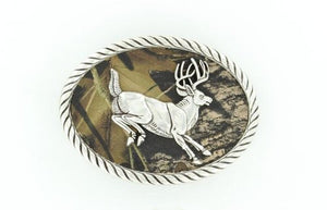 OVAL DEER BUCKLE 3707657