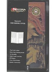 Wallet Checkbook Cover by Nocona Outdoors MFW Model
