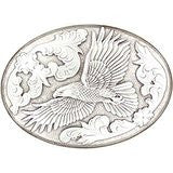 Men's Antiqued Soaring Eagle Belt Buckle