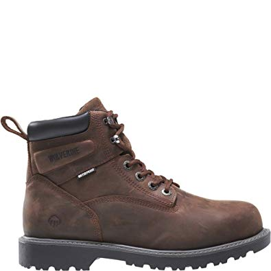 Wolverine Men's Floorhand Waterproof Steel-Toe 6