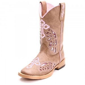 Kids Blazin Roxx Gracie Cowgirl Boot
