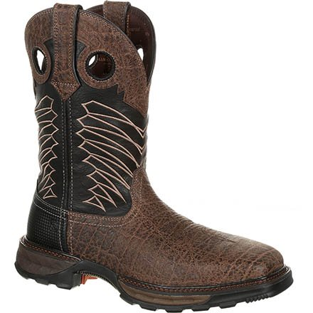 Durango Mens Maverick XP Steel Toe Embossed Waterproof Western Work Boot-DDB0176