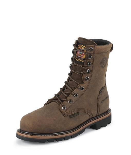 MEN'S WYOMING WORKER II™ WATERPROOF COMPOSITION TOE METGUARD WORK BOOTS
