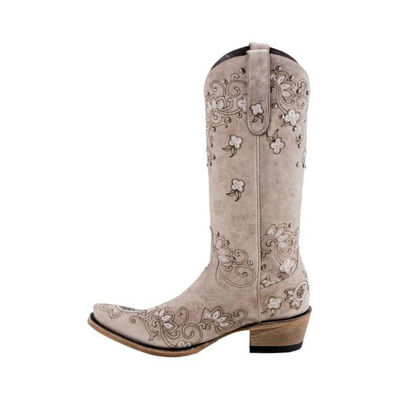 Lane Ladies Sweet Paisley Boot LB0349B