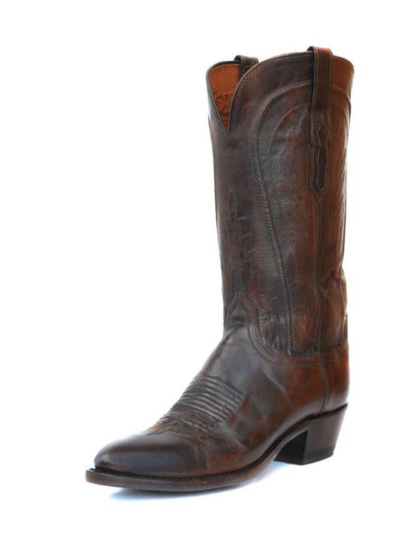Lucchese Women's Antique Peanut Brittle Mad Dog Goat Boots