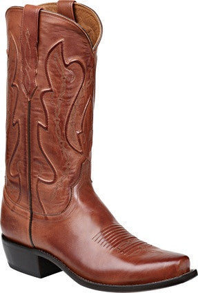 Lucchese Men's Tan Ranch Hand Calfskin Boots
