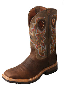 Twisted X Boots MLCA001 Lightweight Safety Toe Cowboy Work Boot