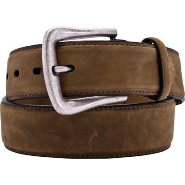 Nocona Brown Western Overlay Belt