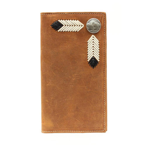 Nocona Men's Buffalo Nickel Rodeo Wallet