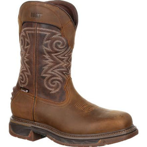 Rocky Iron Skull Composite Toe Waterproof Western Boot RKW0249