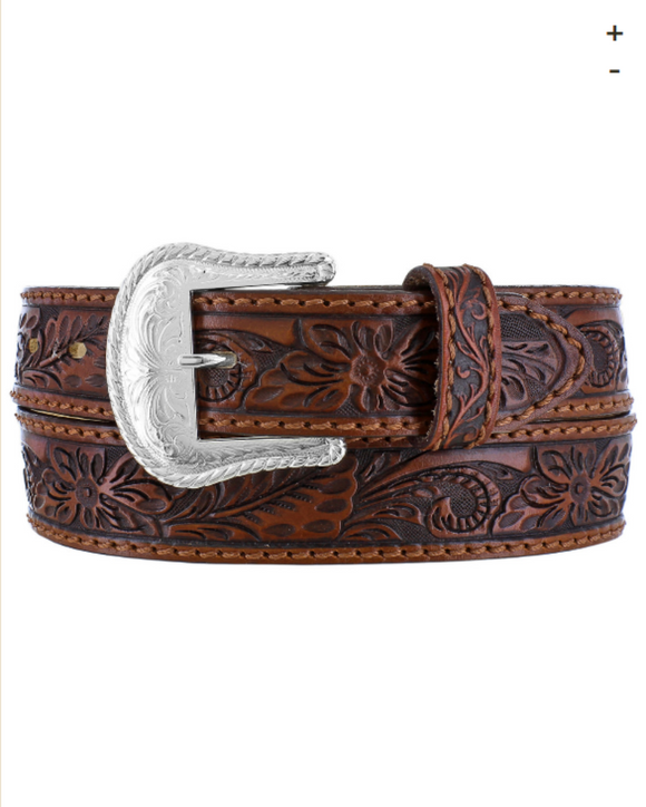 Tony Lama Hand Tooled Belt C40065
