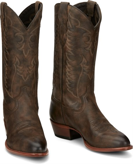 Tony Lama Men's Tascosa Chocolate Brown Boot