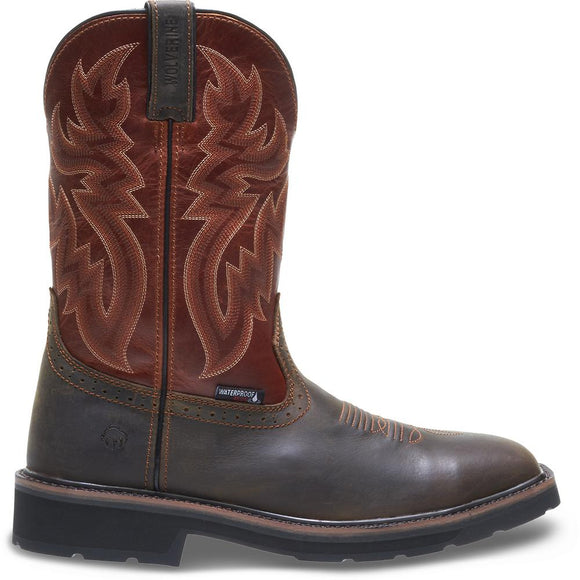 Wolverine Men's Rancher Waterproof Steel-Toe Wellington
