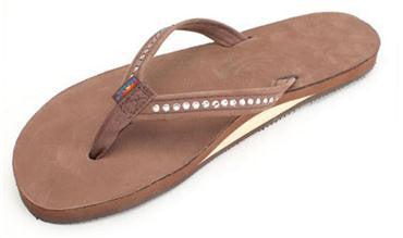 Crystal Collection Women's Rainbow Sandal