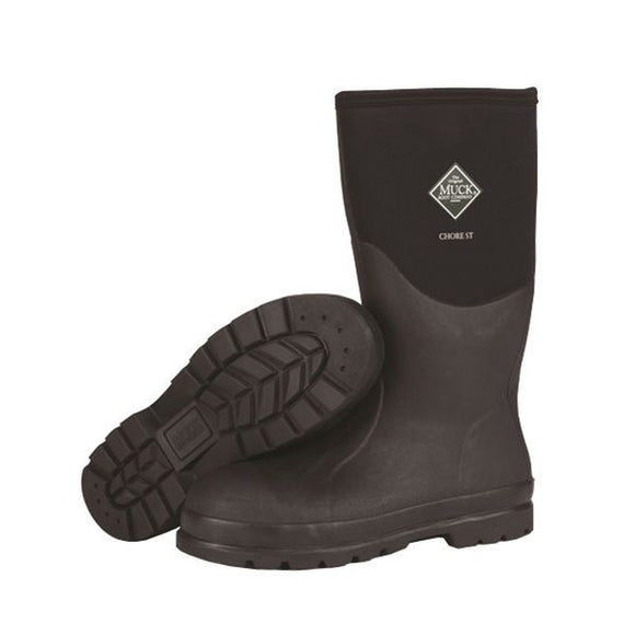 Muck Boot Men's Chore Waterproof Steel Toe Work Boots - CHS-000A