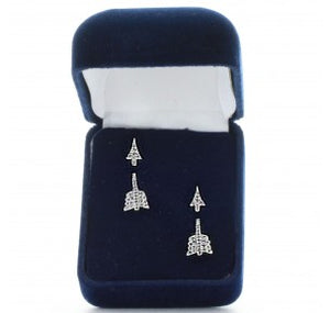 Pierced Arrow Earrings