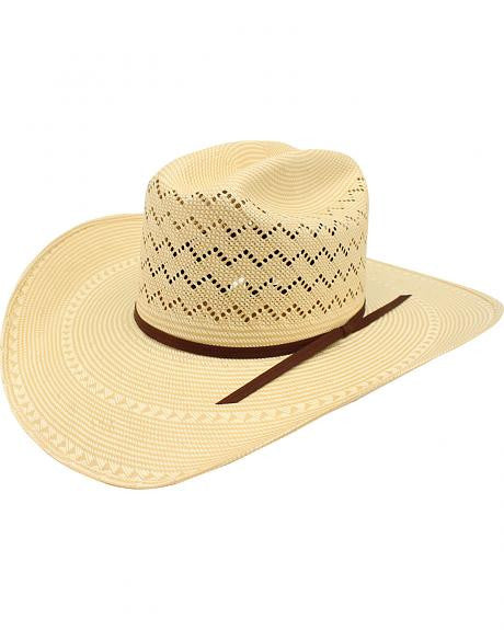 Ariat 20X Double S Straw Cowboy Hat
