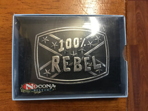 Nocona 100% Rebel 37032 buckle