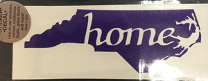 "North Carolina ""Home"" Decal"
