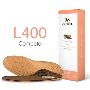 Aetrex Women's Compete Orthotics - Insoles for Active Lifestyles