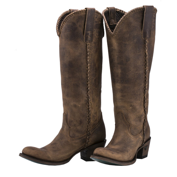 Lane Ladies Plain Jane Boot Brown LB0350A