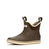 Men's XtraTuf Ankle Deck Boot Chocolate/Tan 22734-BRN