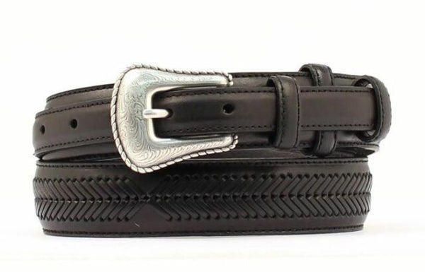 Nocona Black Ranger Belt