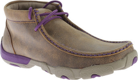 Twisted X Boots WDM0015 Driving Moc (purple)