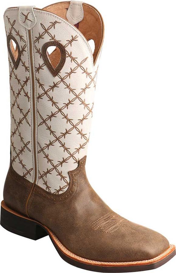 Twisted X MRS0056 Ruff Stock Cowboy Boot (Men's)