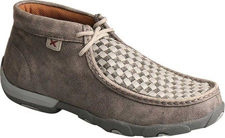 Twisted X Women's Driving Moccasins – Grey