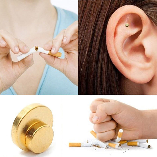 Magnet Patch Anti-Smoking Therapy